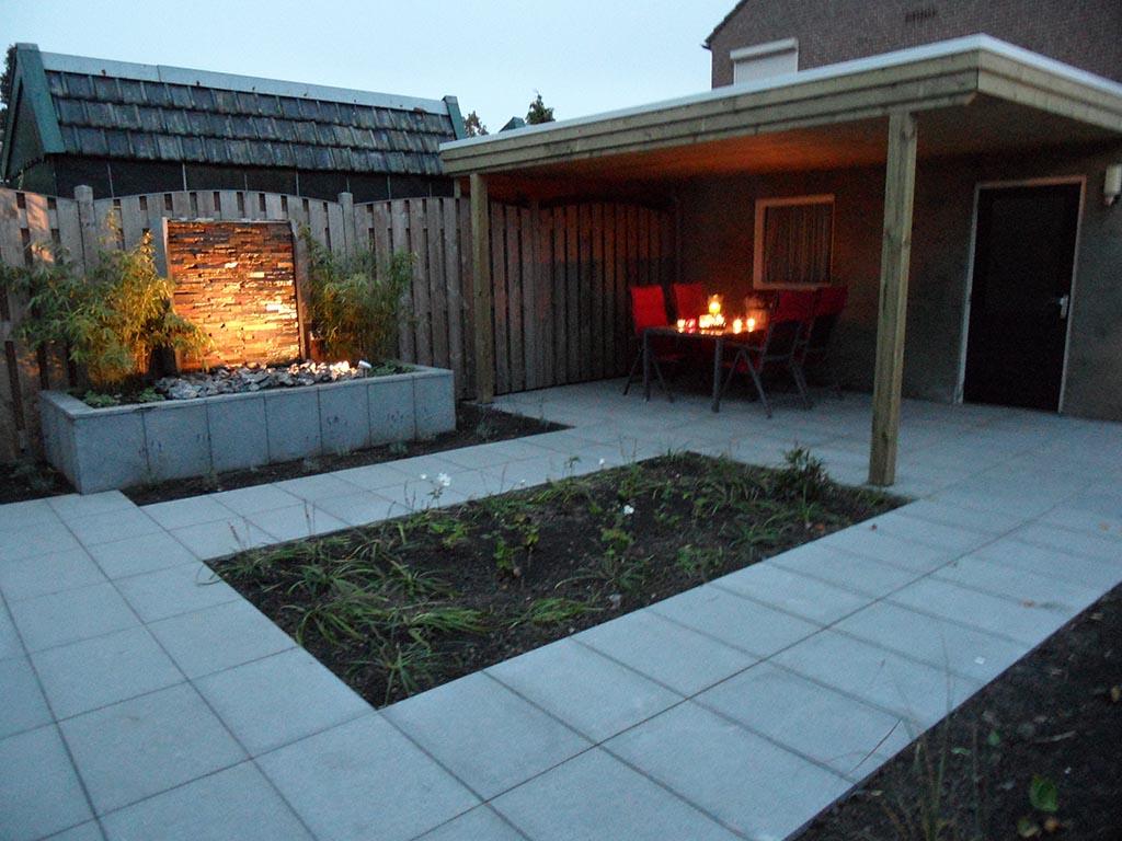 Tuin Met Tegels : Keramische tegels natuursteen voor buiten in de tuin