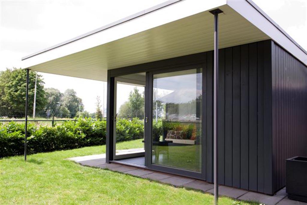 Moderne Tuinhuizen Overkappingen - Keramische Tegels