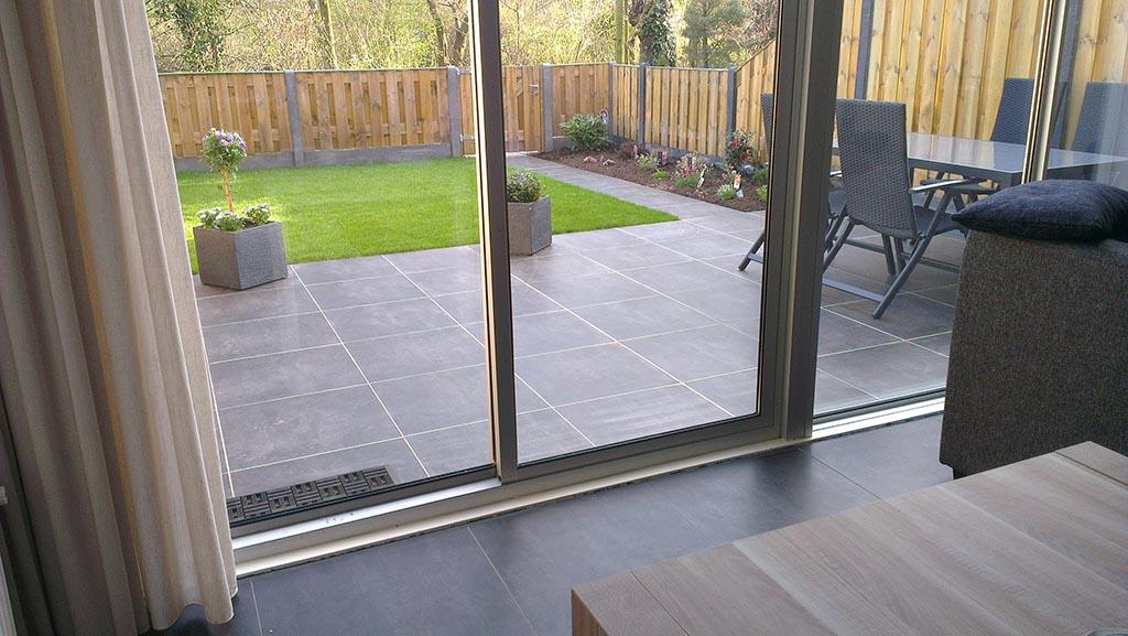 Tegels Leggen Tuin : Keramische tegels keramische buitentegels leggen