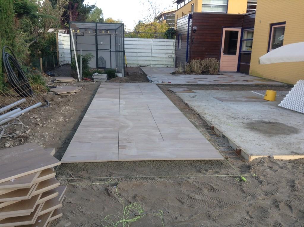 Keramische Tegels Tuin : Keramische tegels: ondergrond keramische tuintegels