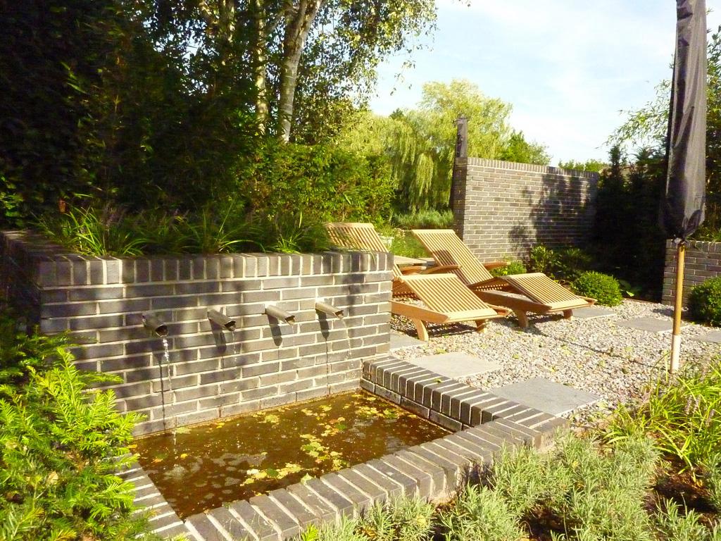 Keramische tegels: strakke tuin in tilburg
