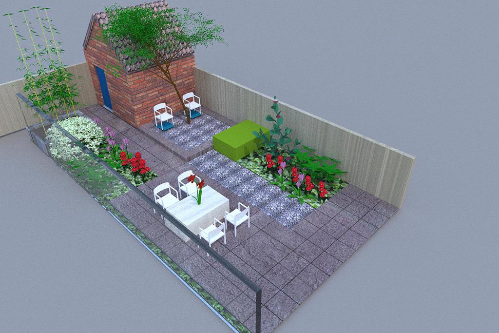 Keramische tegels tuinontwerpen eindhoven for Tuin allen idee